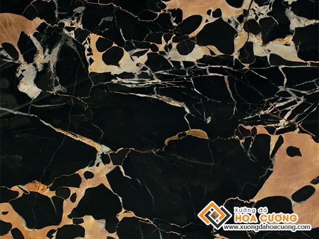da marble black yellow italya